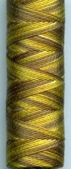 Sue Spargo Eleganza Perle 8 Thread – Olive Pit EZM10