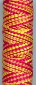 Sue Spargo Eleganza Perle 8 Thread – Saltwater Taffy EZM32