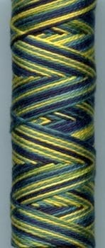 Sue Spargo Eleganza Perle 8 Thread – Midnight Swim EZM44
