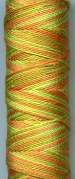 Sue Spargo Eleganza Perle 8 Thread – Citrus Zest EZM52