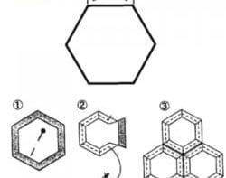 Hexagon Precut Paper Shapes