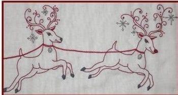 Rudolph's Sleigh Ride