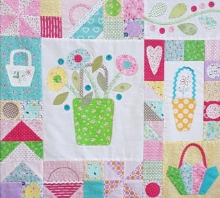 The Sopwell Ladies Basket Society Quilt