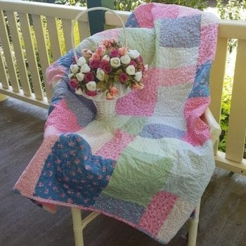 Decorator Lap Quilt Kit