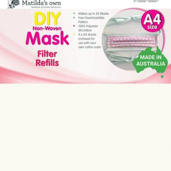 DIY Face Mask Filter Refills