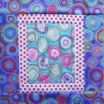 Purple Ripples Quilt Kit