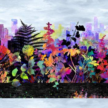 Urban Jungle – Multicolour Border Stripe – 1UJ-1