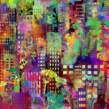 Urban Jungle – Multicolour City 2UJ-1