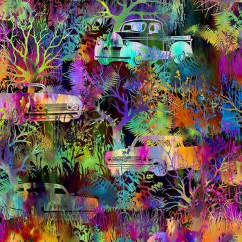 Urban Jungle – Multicolour Autos 3UJ-1