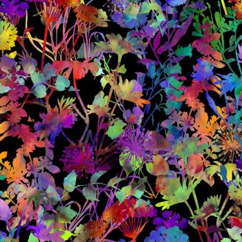 Urban Jungle – Multicolour Flowers 4UJ-1