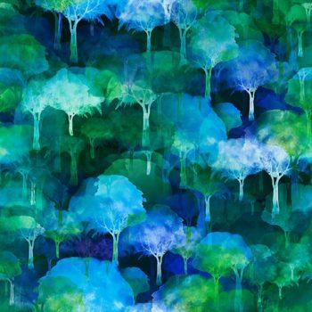 Urban Jungle – Blue Trees 8UJ-1