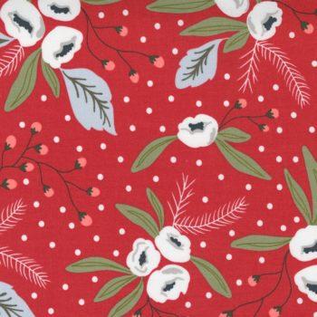 Christmas Morning – M5140-16 Cranberry