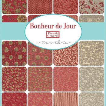 Bonheur de Jour – Homespun's 2022 BOM